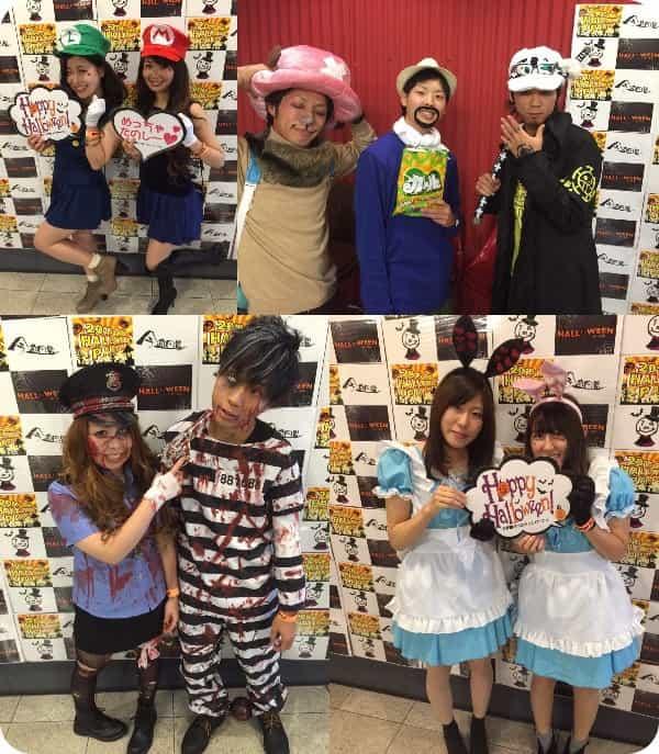 2015岡山ハロウィン仮装1
