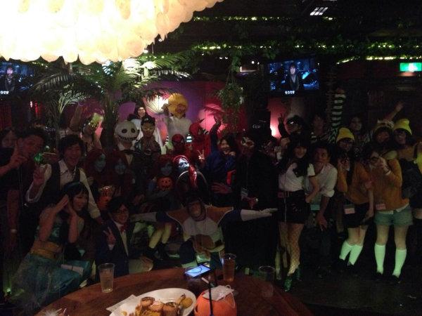 2015大阪ハロウィン開催風景