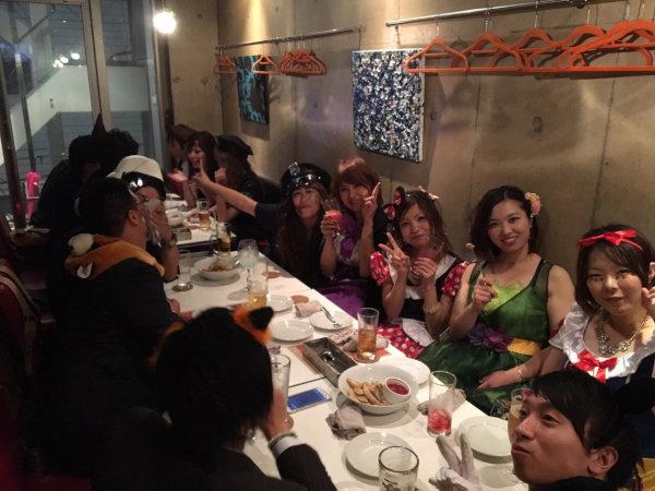 2015福岡ハロウィン開催風景1