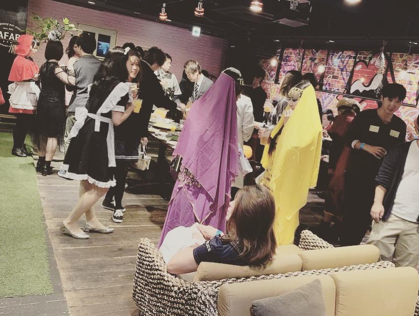 大阪ハロウィンイベント・パーティーの様子2